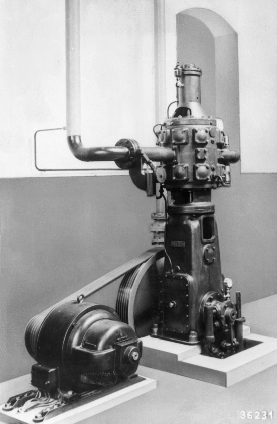 1935 - first Laby® compressor