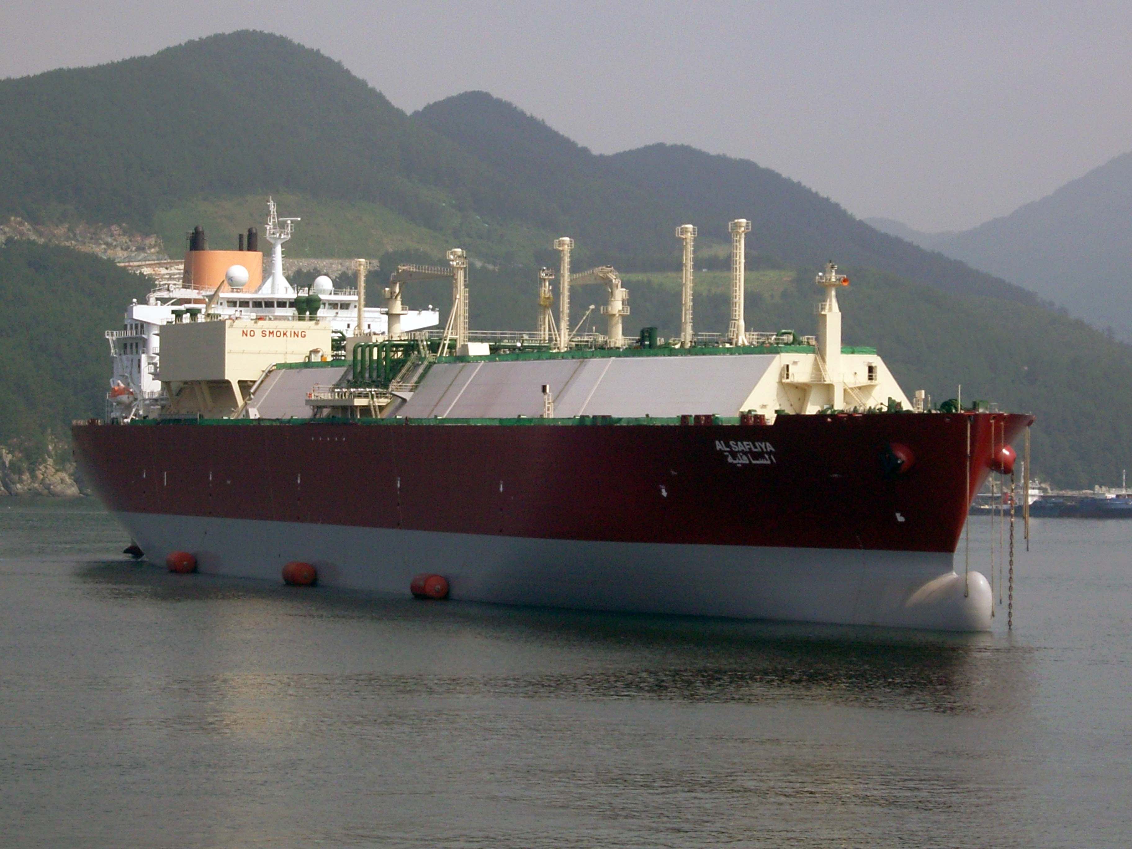 2013 - first Laby®-GI for LNG carriers