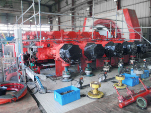 Ongoing overhaul on Hyper Compressor type K10