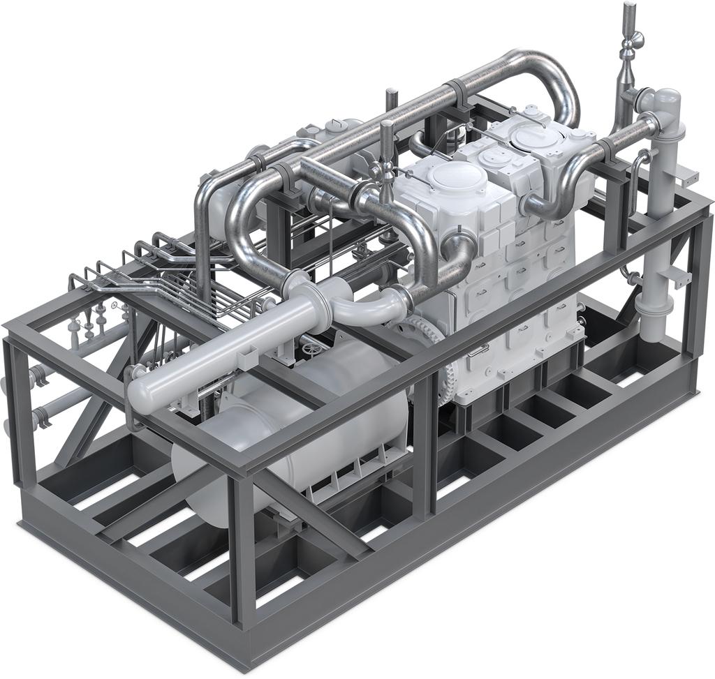 WinGD X-DF Engines - Burckhardt Compression